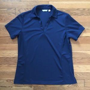 Navy Lady Hagen Golf Shirt